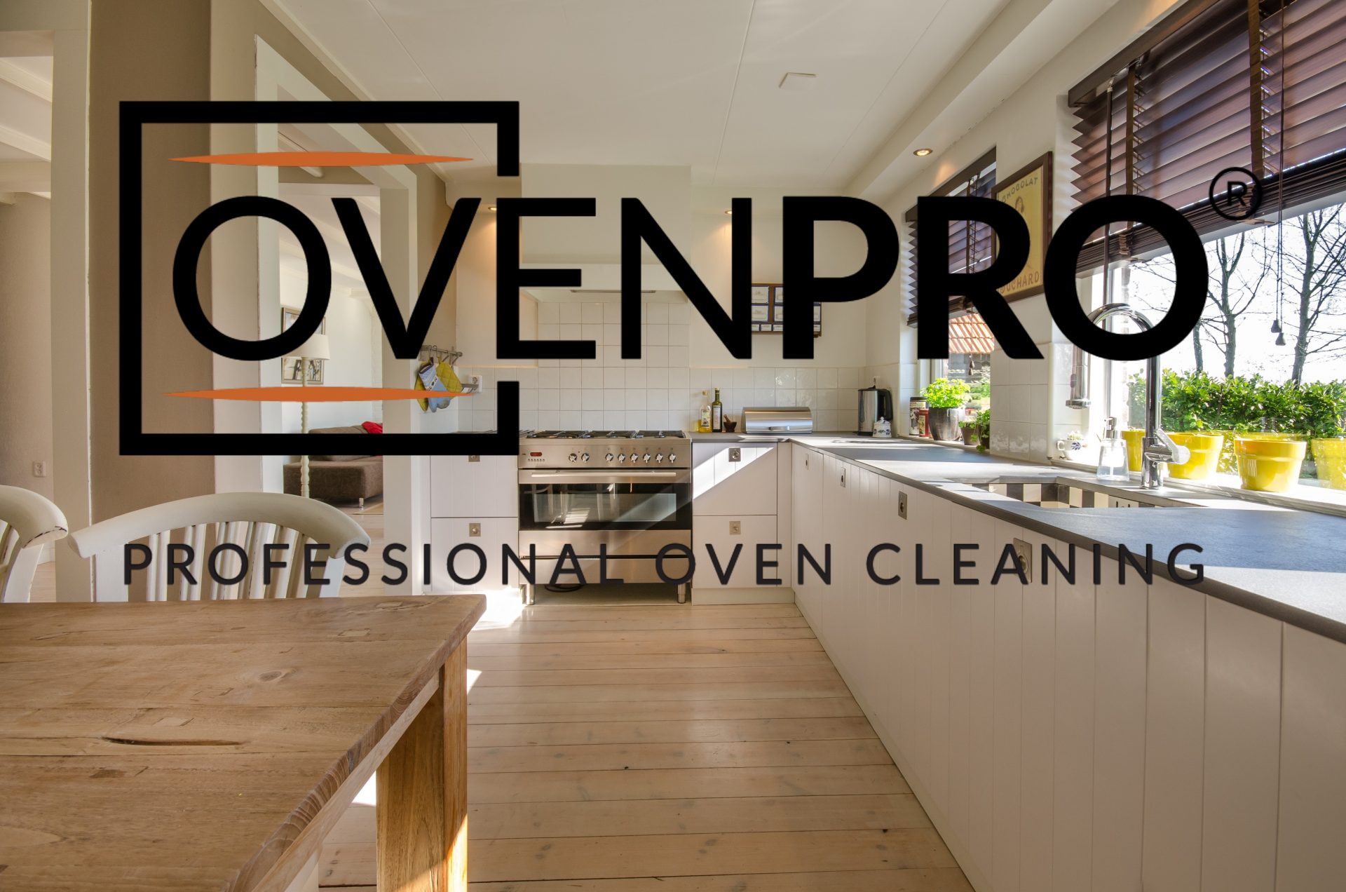 OvenPro Logo Splash